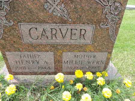 CARVER, MILLIE - Franklin County, Ohio | MILLIE CARVER - Ohio Gravestone Photos