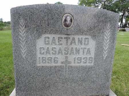 CASASANTA, GAETANO - Franklin County, Ohio | GAETANO CASASANTA - Ohio Gravestone Photos