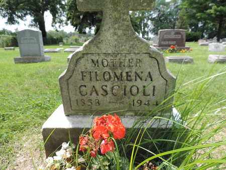 CASCIOLI, FILOMENA - Franklin County, Ohio | FILOMENA CASCIOLI - Ohio Gravestone Photos