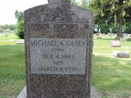 CASEY, MICHAEL A. - Franklin County, Ohio | MICHAEL A. CASEY - Ohio Gravestone Photos