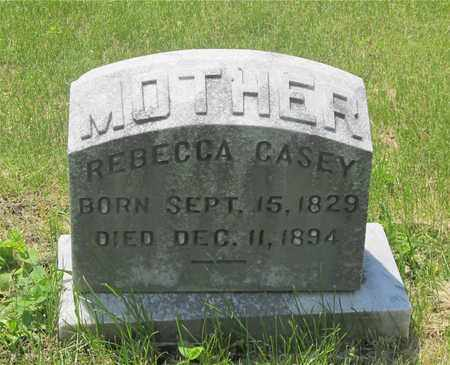 CASEY, REBECCA - Franklin County, Ohio | REBECCA CASEY - Ohio Gravestone Photos