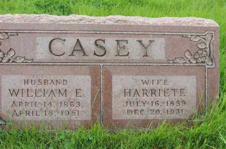 CASEY, HARRIETE - Franklin County, Ohio | HARRIETE CASEY - Ohio Gravestone Photos