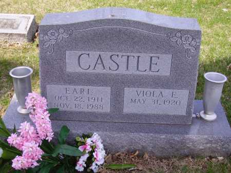 CASTLE, VIOLA E. - Franklin County, Ohio | VIOLA E. CASTLE - Ohio Gravestone Photos