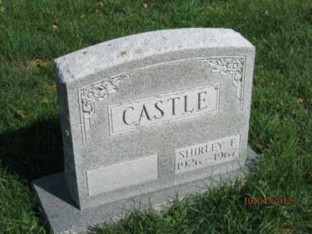 KNASEL CASTLE, SHIRLEY E - Franklin County, Ohio | SHIRLEY E KNASEL CASTLE - Ohio Gravestone Photos