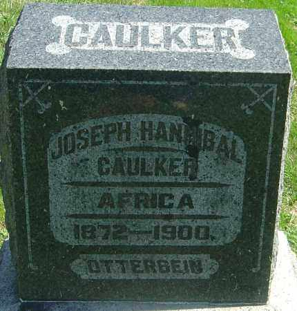 CAULKER, JOSEPH HANIBAL - Franklin County, Ohio | JOSEPH HANIBAL CAULKER - Ohio Gravestone Photos