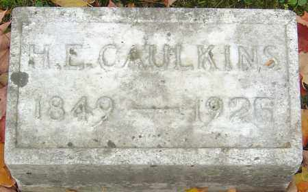 CAULKINS, HENRY E - Franklin County, Ohio | HENRY E CAULKINS - Ohio Gravestone Photos