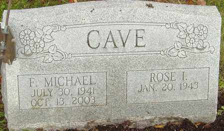CAVE, F MICHAEL - Franklin County, Ohio | F MICHAEL CAVE - Ohio Gravestone Photos