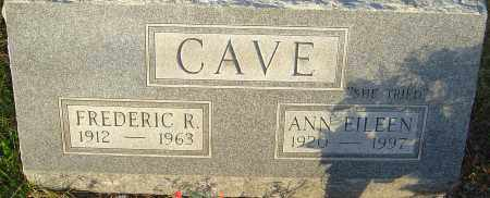 FISHER CAVE, ANN - Franklin County, Ohio | ANN FISHER CAVE - Ohio Gravestone Photos
