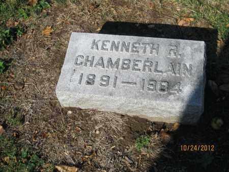 CHAMBERLAIN, KENNETH R - Franklin County, Ohio | KENNETH R CHAMBERLAIN - Ohio Gravestone Photos