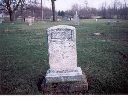 CHAMPE, LEANDER - Franklin County, Ohio | LEANDER CHAMPE - Ohio Gravestone Photos