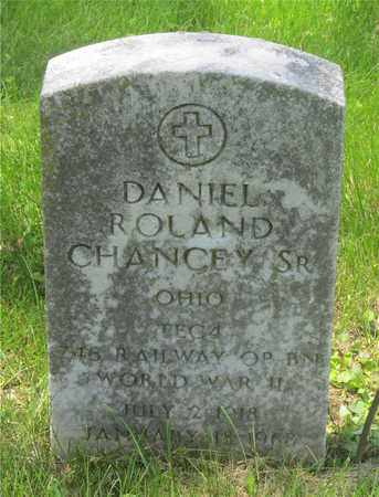 CHANCEY, DANIEL ROLAND - Franklin County, Ohio | DANIEL ROLAND CHANCEY - Ohio Gravestone Photos