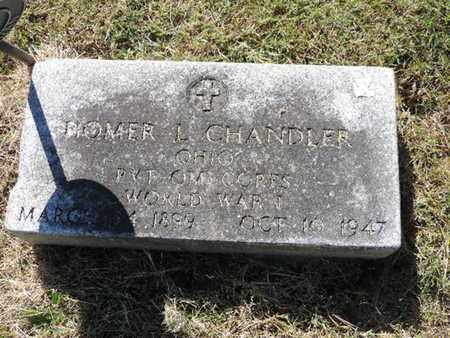 CHANDLER, HOMER L. - Franklin County, Ohio | HOMER L. CHANDLER - Ohio Gravestone Photos