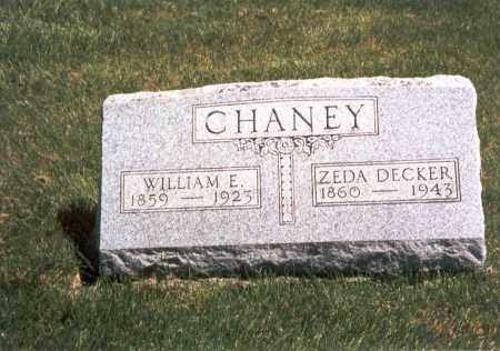 CHANEY, WILLIAM E. - Franklin County, Ohio | WILLIAM E. CHANEY - Ohio Gravestone Photos
