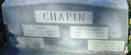CHAPIN, JACK LEROY - Franklin County, Ohio | JACK LEROY CHAPIN - Ohio Gravestone Photos