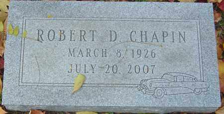 CHAPIN, ROBERT DAVID - Franklin County, Ohio | ROBERT DAVID CHAPIN - Ohio Gravestone Photos