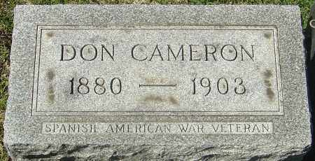 CHAPMAN, DON CAMERON - Franklin County, Ohio | DON CAMERON CHAPMAN - Ohio Gravestone Photos