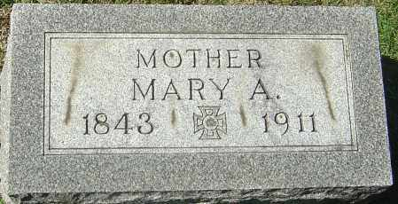 CHAPMAN, MARY ANN - Franklin County, Ohio | MARY ANN CHAPMAN - Ohio Gravestone Photos
