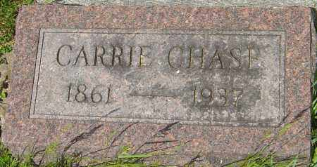 CHASE, CARRIE - Franklin County, Ohio | CARRIE CHASE - Ohio Gravestone Photos