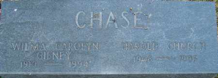 CHASE, WILMA - Franklin County, Ohio | WILMA CHASE - Ohio Gravestone Photos