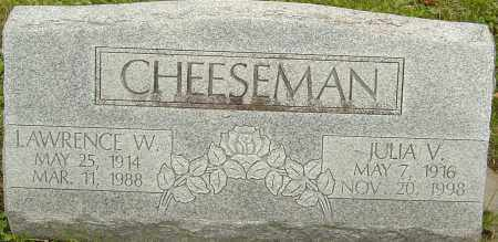 KUHN CHEESEMAN, JULIA - Franklin County, Ohio | JULIA KUHN CHEESEMAN - Ohio Gravestone Photos