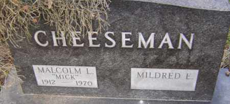 CHEESEMAN, MALCOLM - Franklin County, Ohio | MALCOLM CHEESEMAN - Ohio Gravestone Photos