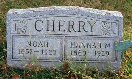 CHERRY, HANNAH M. - Franklin County, Ohio | HANNAH M. CHERRY - Ohio Gravestone Photos