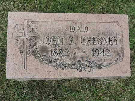 CHESNEY, JOHN B. - Franklin County, Ohio | JOHN B. CHESNEY - Ohio Gravestone Photos