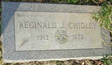 CHIDLEY, REGINALD J - Franklin County, Ohio | REGINALD J CHIDLEY - Ohio Gravestone Photos