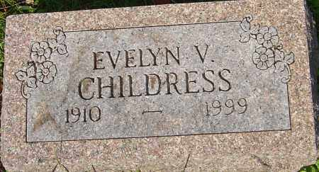 CHILDRESS, EVELYN - Franklin County, Ohio | EVELYN CHILDRESS - Ohio Gravestone Photos