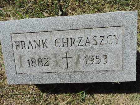 CHRZASZCY, FRANK - Franklin County, Ohio | FRANK CHRZASZCY - Ohio Gravestone Photos