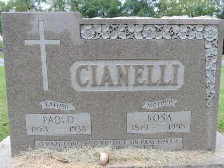 CIANELLI, PAOLO - Franklin County, Ohio | PAOLO CIANELLI - Ohio Gravestone Photos