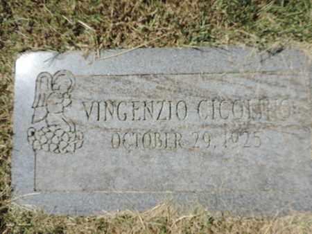 CICGLIHO, VINGENZIO - Franklin County, Ohio | VINGENZIO CICGLIHO - Ohio Gravestone Photos