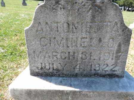 CIMIHEELO, ANTONETTA - Franklin County, Ohio | ANTONETTA CIMIHEELO - Ohio Gravestone Photos