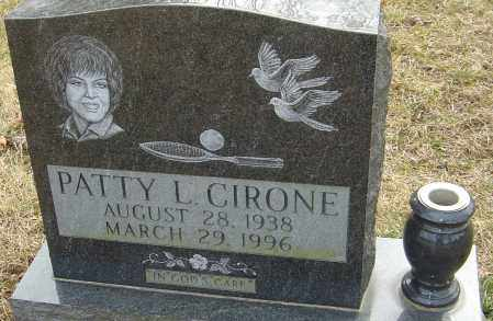 CIRONE, PATTY - Franklin County, Ohio | PATTY CIRONE - Ohio Gravestone Photos