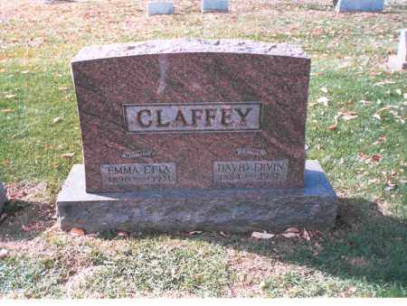 CLAFFEY, DAVID ERVIN - Franklin County, Ohio | DAVID ERVIN CLAFFEY - Ohio Gravestone Photos