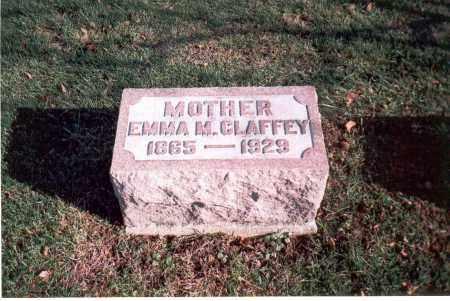 CLAFFEY, EMMA M. - Franklin County, Ohio | EMMA M. CLAFFEY - Ohio Gravestone Photos