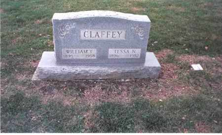 CLAFFEY, WILLIAM T. - Franklin County, Ohio | WILLIAM T. CLAFFEY - Ohio Gravestone Photos