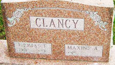 CLANCY, THOMAS - Franklin County, Ohio | THOMAS CLANCY - Ohio Gravestone Photos