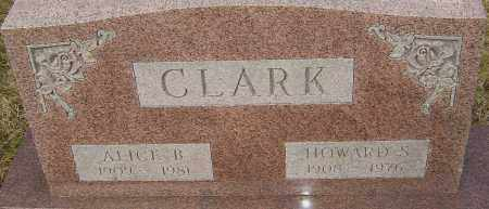 CLARK, ALICE - Franklin County, Ohio | ALICE CLARK - Ohio Gravestone Photos