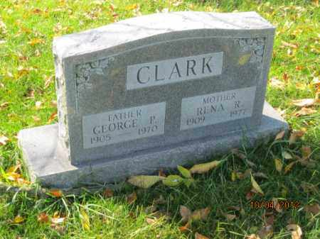 CLARK, RENA R - Franklin County, Ohio | RENA R CLARK - Ohio Gravestone Photos
