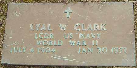CLARK, LYAL W - Franklin County, Ohio | LYAL W CLARK - Ohio Gravestone Photos
