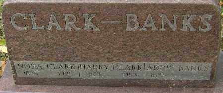 BANKS CLARK, NORA - Franklin County, Ohio | NORA BANKS CLARK - Ohio Gravestone Photos