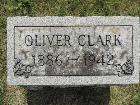 CLARK, OLIVER - Franklin County, Ohio | OLIVER CLARK - Ohio Gravestone Photos