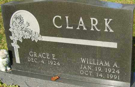 CLARK, WILLIAM A - Franklin County, Ohio | WILLIAM A CLARK - Ohio Gravestone Photos