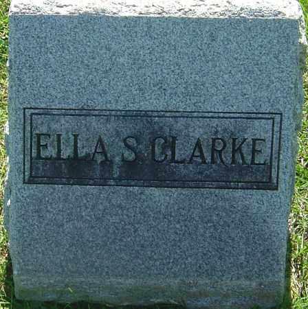 CLARKE, ELLA S - Franklin County, Ohio | ELLA S CLARKE - Ohio Gravestone Photos