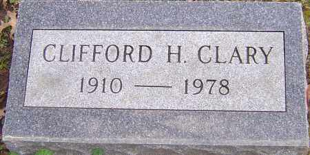 CLARY, CLIFFORD - Franklin County, Ohio | CLIFFORD CLARY - Ohio Gravestone Photos