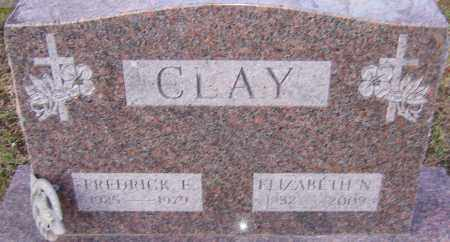 CLAY, ELIZABETH - Franklin County, Ohio | ELIZABETH CLAY - Ohio Gravestone Photos