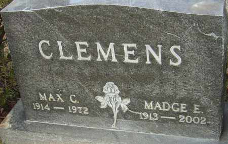 MCCLAIN CLEMENS, MADGE E - Franklin County, Ohio | MADGE E MCCLAIN CLEMENS - Ohio Gravestone Photos