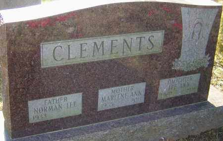 CLEMENTS, MARLENE - Franklin County, Ohio | MARLENE CLEMENTS - Ohio Gravestone Photos