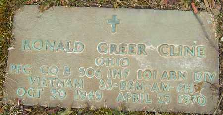 CLINE, RONALD GREER - Franklin County, Ohio | RONALD GREER CLINE - Ohio Gravestone Photos